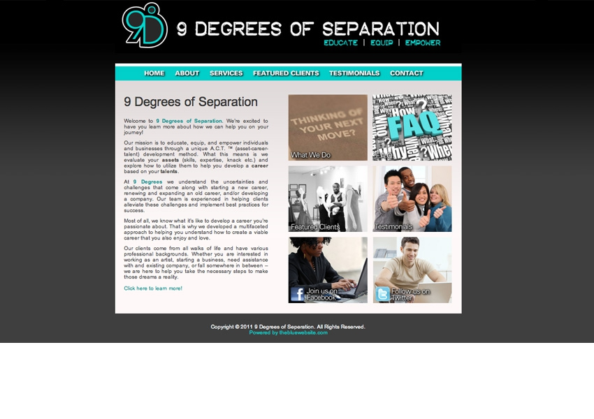 9 Degrees of Separation